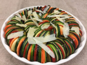 The Arty Tart Roasted Vegetable Bake Before